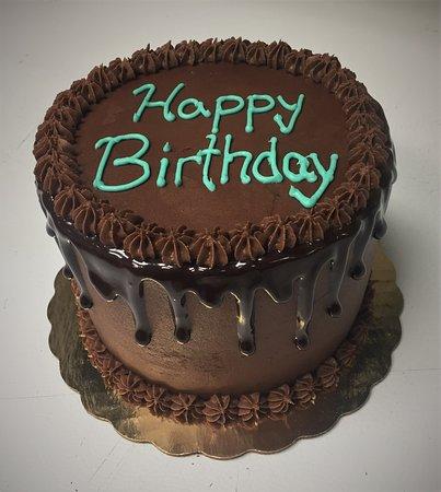 Gateaux Bakery & Cafe Chocolate Happy Birthday Cake