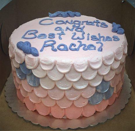 Gateaux Bakery & Cafe Congratulations Cake