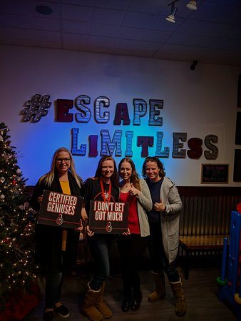 Staff Appreciation Event At Limitless Escape Games