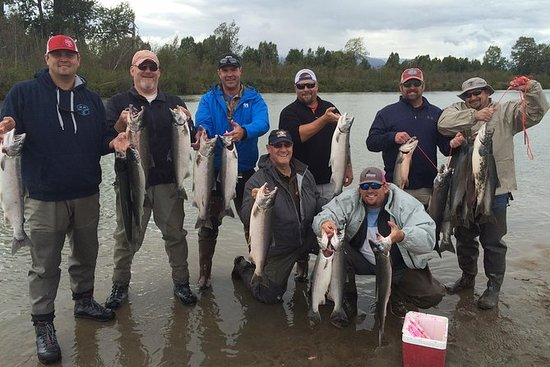 Kustatan River Fly out Silver Salmon...