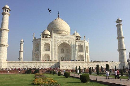Agra dia de viagem de Delhi