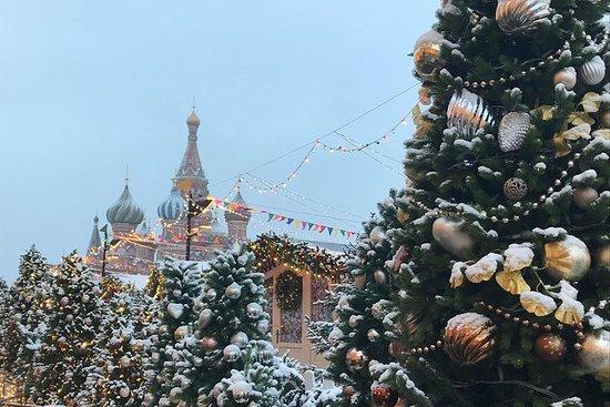 Weihnachten und Neujahr Moskau