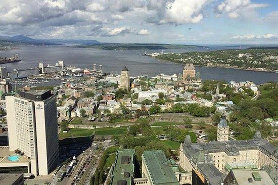 VIP Walk Québec City, Car to Island...
