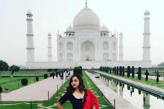 Taj Mahal dia de viagem de Delhi