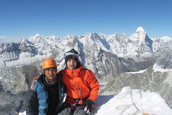 Isla pico de escalada
