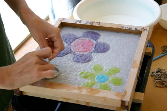 Tokyo Washi Art, Draw a Picture by...