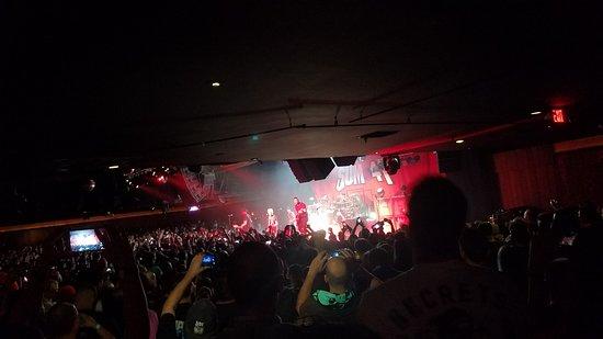 Sayreville, Нью-Джерси: View during Sum 41's Don't Call  It a Sum-Back Tour 2016