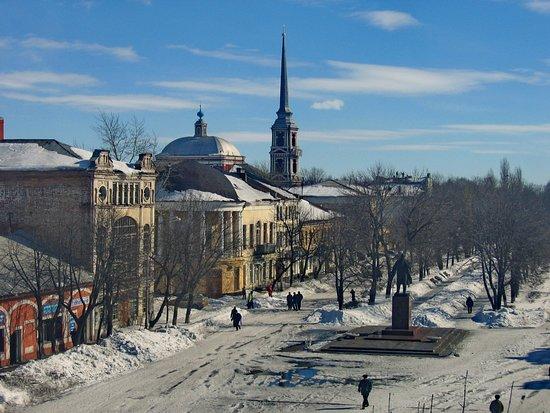 Исторический центр города Мичуринска (Козлова до 1932г.) Ильинская церковь, год постройки 1781.