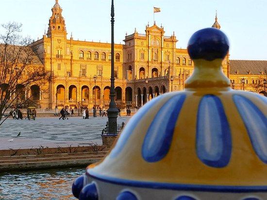 Provincie Sevilla, Španělsko: Plaza de Espana