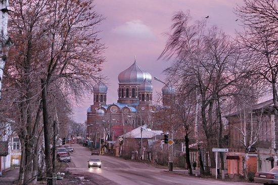 Мичуринск, Россия: Боголюбский собор, год постройки-1873