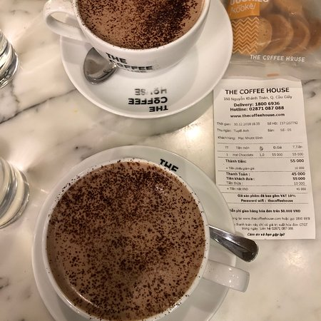 Good hot chocolate too