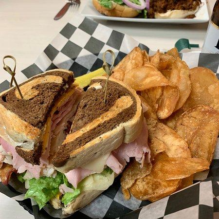 Sparta, ميتشجان: Club sandwich on your choice of bread