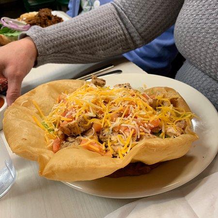 Sparta, ميتشجان: Chicken taco salad
