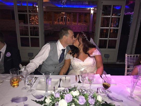 Laindon, UK: Our wedding day