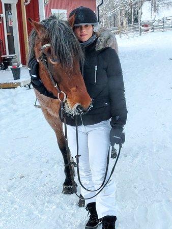 Balade à cheval très sympa