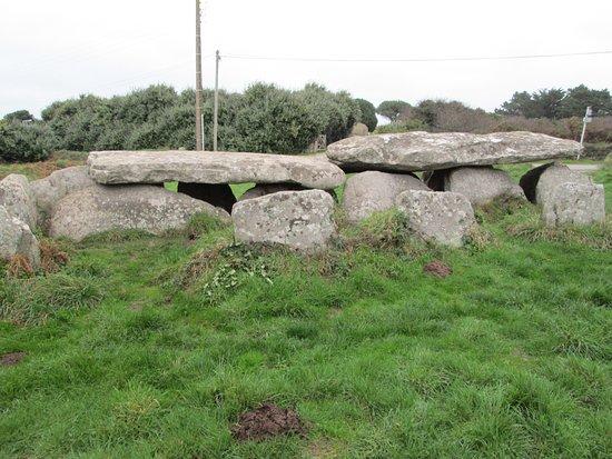 Ile Grande, France: stones