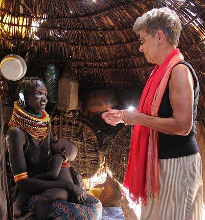 Loiyangalani, Kenya: Invited into the home of a Turkana woman
