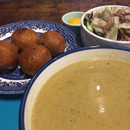 Delicious lentil soup!