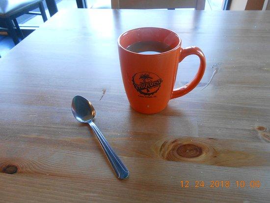 Paradise Deli & Grill: good coffee