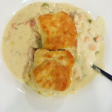 Nottingham, PA: Creamy Chicken and Biscuits