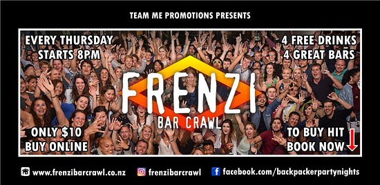 Frenzi Bar Crawl
