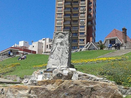 Alfonsina Storni Monument