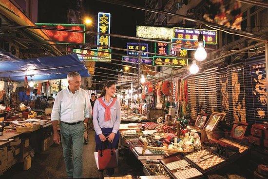Tour notturno di Hong Kong: la città