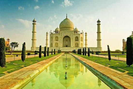 Privat Taj Mahal Agra Dagstur ved...