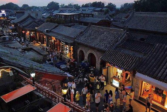 Back lakes-Yandai Xie street With Street Food Private Night Tour: Night Tour: Back lakes-Yandai Xie street With Street Food