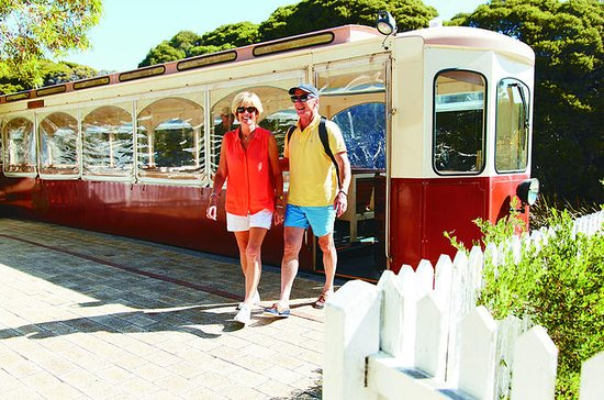 Rottnest Island Oliver Hill Train et Tunnel d'une...