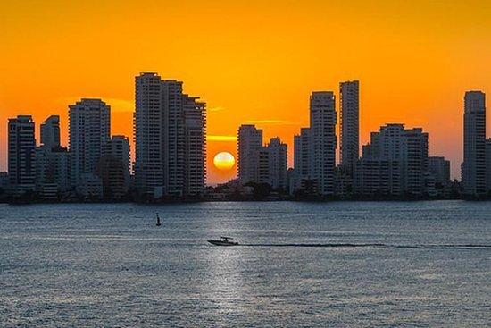 Magnifique coucher de soleil dans la...
