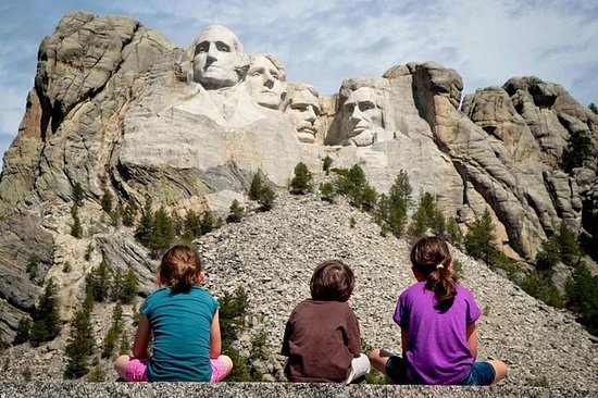 Mount Rushmore og Black Hills Tour...