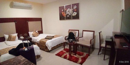Sakaka, Saudi Arabia: room view
