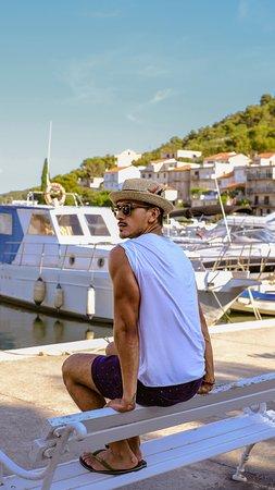 Zaton, Croacia: Where's my boat?