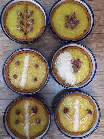 Yazd, Iran : Shole Zard (iranian Dessert)