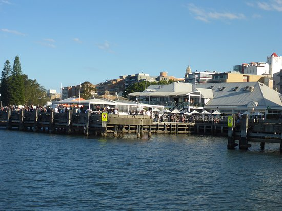 Queens Wharf Hotel from the Hunter River