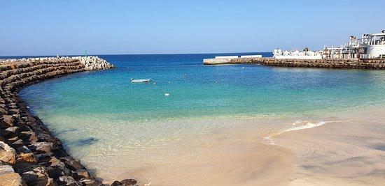 La playa donde se puede uno bañar, el resto es demasiado salvaje aunque muy bonita