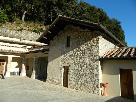 Greccio, Italy: Santuario francescano