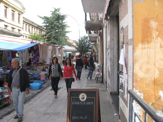 The weekly market day in Bojano,Campobasso,Molise,Italy that held: every Saturday, in the city center.