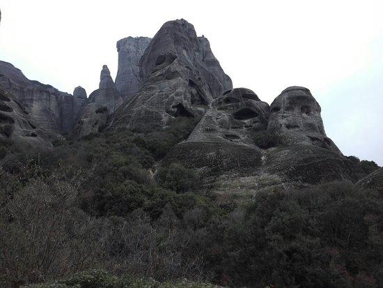 Landscape - Meteoron Panorama Photo