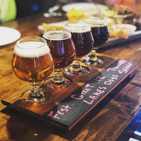 Mayfield Heights, OH: Beer Flight
