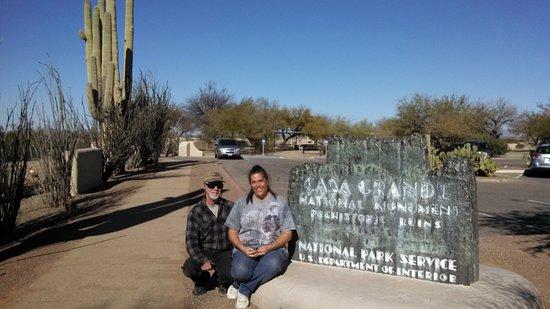 Coolidge, AZ: Casa Grande National Monument 2014