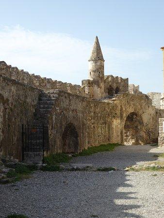 Nafpaktos Old Port: Back side of Port
