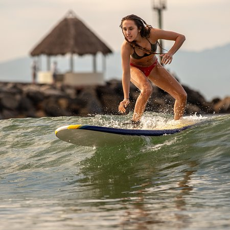 Paradise Village Beach Resort & Spa: You can rent a surf board right next to the volleyball at Scuba Steve.