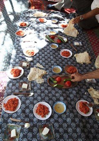 Fars Province, Iran: Nomads' organic breakfast