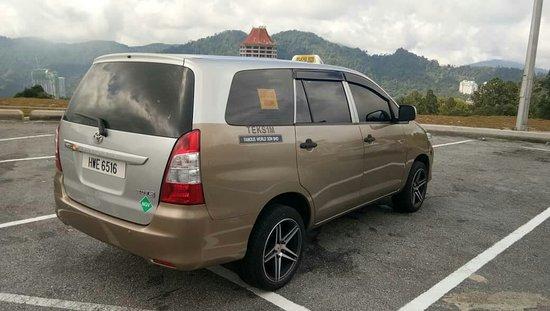 Shah Alam, Malaisie: Mpv Taxi Service
