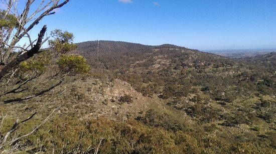 Maldon, Австралия: View of Mt Tarrengower to the South