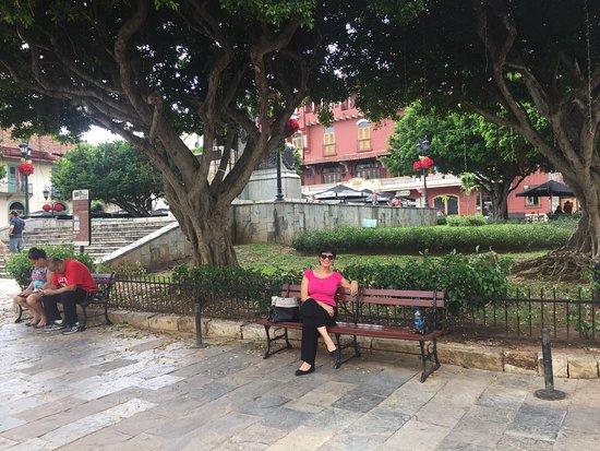 Descansandito en Panama.