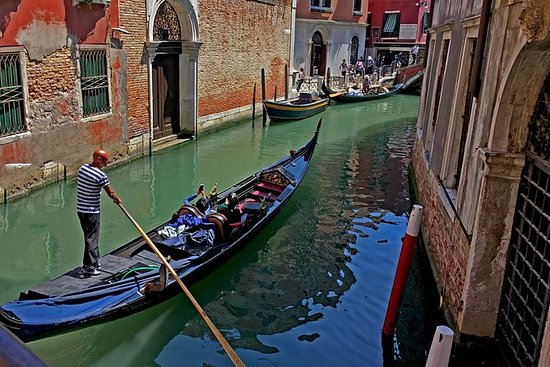 Venice Glassblowing Demo and Gondola...
