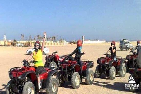 Desert Safari tur med Quad Bike